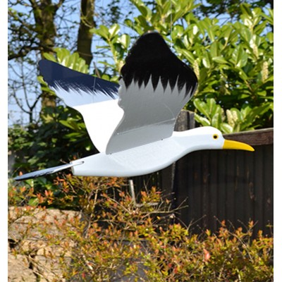 Wooden Hanging Seagull Flying