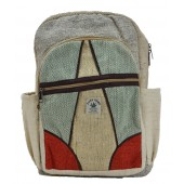 Hemp Bags Backpack Alphabet A