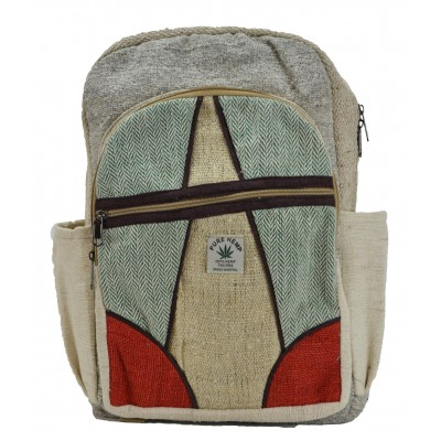 Hemp Bags Backpack Alphabet A