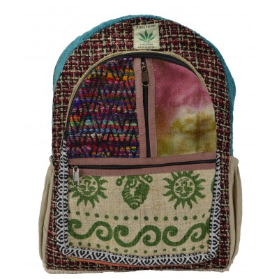 Hemp Bag Backpack Sun