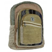 Hemp Backpack Cross zip