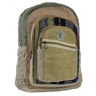 Hemp Backpack Cross zip
