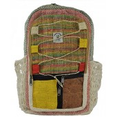 Hemp Bag Backpack Handmade Nepal