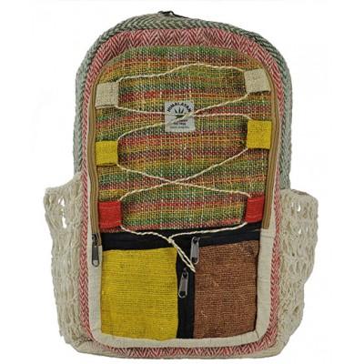 Hemp Bag Backpack Handmade Nepal