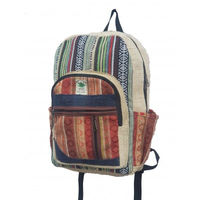Hemp Bags Backpack with Recycled cotton
