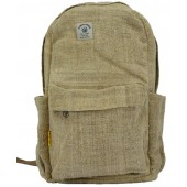 Natural Hemp Bag Nepal Handmade Backpack