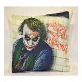 Batwan Joker Cowards Cushion Cover 18*18