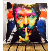 David Bowie Singer Patrice Muricano Union Jack Cushion Covers