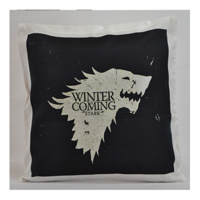 Game of Throne Cushion Cover Black 18*18