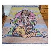 Lord Ganesh Hippy Tapestry Wall Hanging Ethnic Home Decor