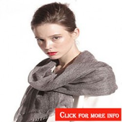 Cashmere Pashmina Scarf Double Ply (0)