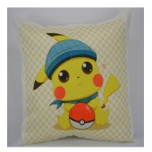 Pokemon Go Pikachu Cushion Covers 18*18