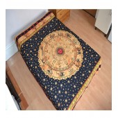 Zodiac Hippy Tapestry Wall Hanging Ethnic Decor